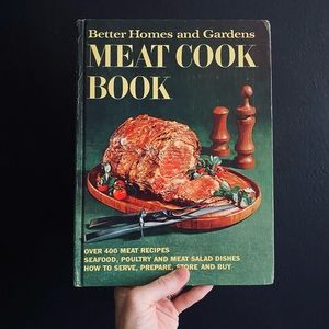 Vintage 1969 Better Homes & Garden Meat Cookbook
